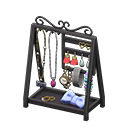Animal Crossing Accessories Stand|Black Image
