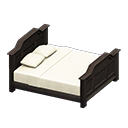 Animal Crossing Antique Bed|Black Image