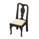Animal Crossing Antique Chair|Black Image
