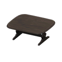 Animal Crossing Antique Table|Black Image