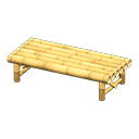 Animal Crossing Bamboo Bench|Dried bamboo Image