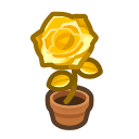 Animal Crossing Gold-rose Plant Image
