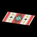 Animal Crossing New Horizons Red-Design Kitchen Mat Price ... on Kitchen Items Animal Crossing  id=48329