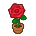 Animal Crossing Red-rose Plant Image