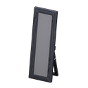 Animal Crossing Wooden Full-length Mirror|Black Image