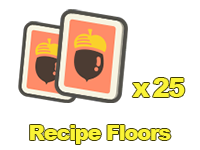 Recipe Floors x25