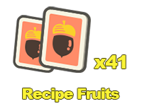 Recipe Fruits x41