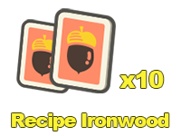 Recipe Ironwood x10