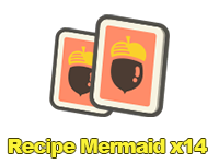 Recipe Mermaid x14