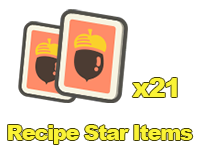 Recipe Star Items x21