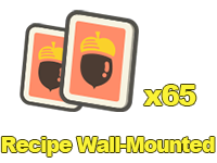 Recipe Wall-Mounted x65