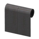 Black Perforated-Board Wall