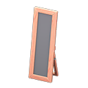 Wooden Full-Length Mirror