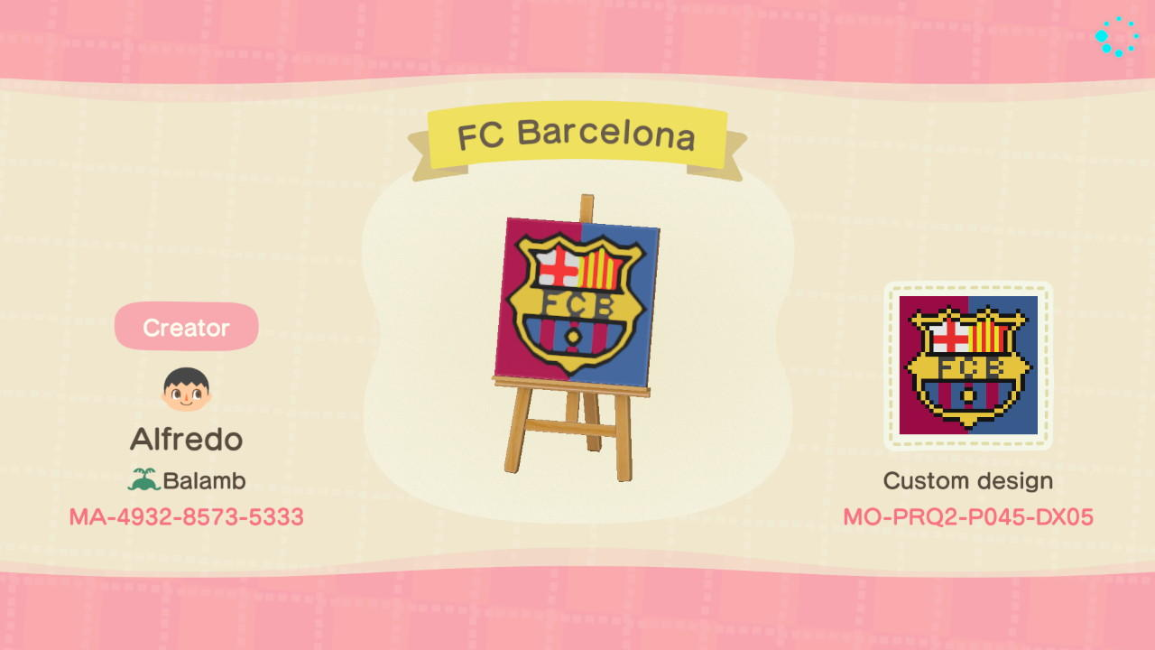 Animal Crossing New Horizons Design ID Codes, ACNH Creator ...