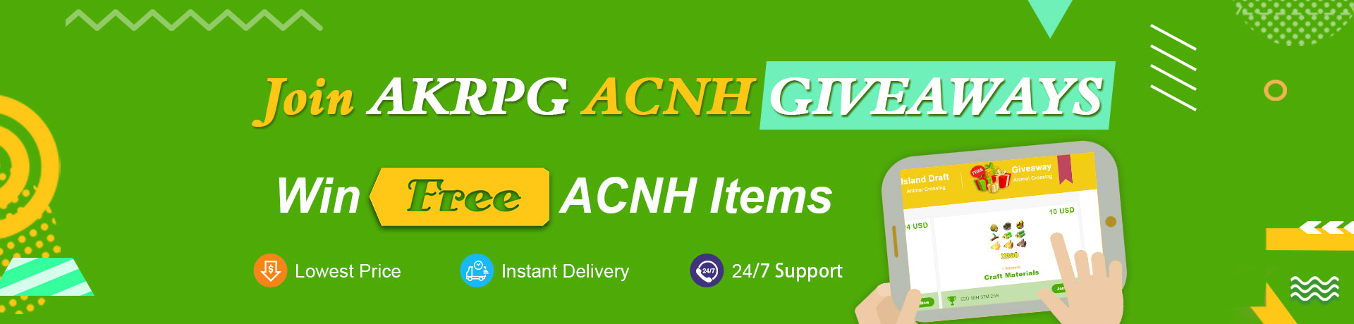 Free ACNH Giveaways