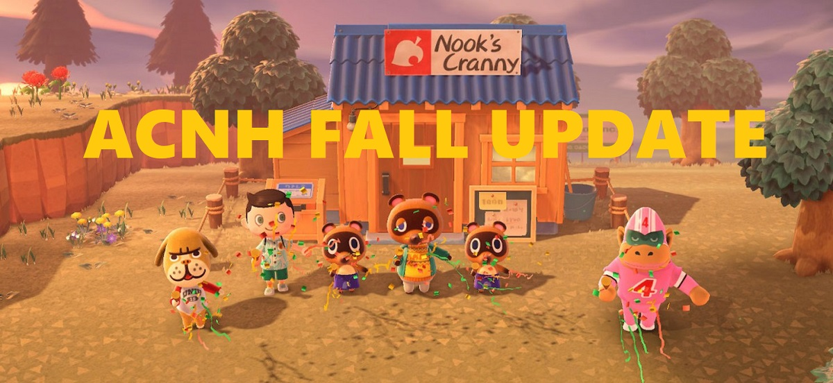 Animal Crossing New Horizons Fall (September) Update Predictions