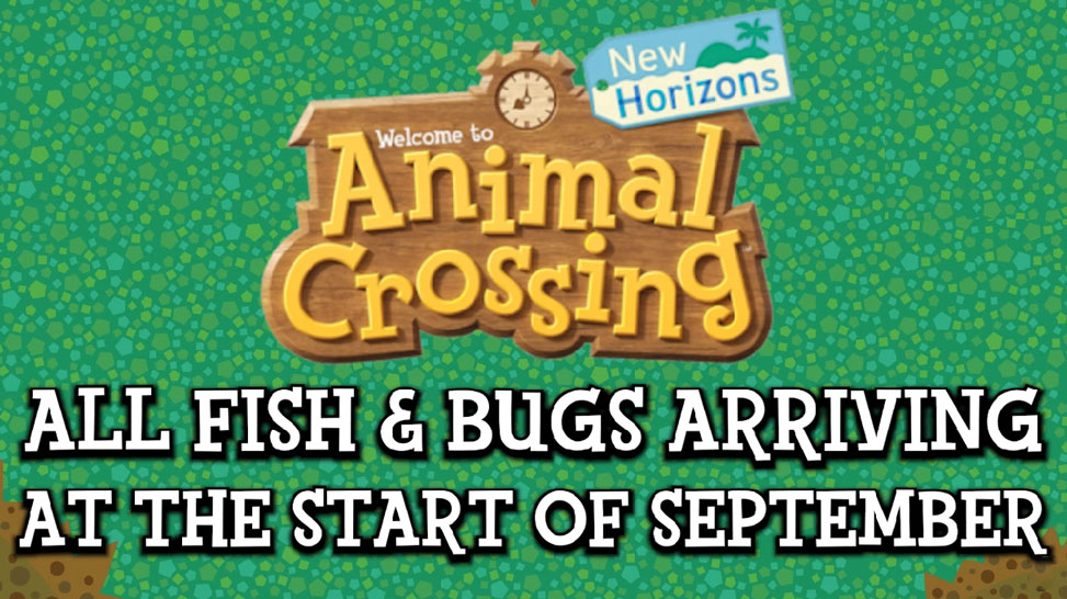 All New Animal Crossing New Horizons Bugs Fish In September Acnh September Bugs Fish Guide