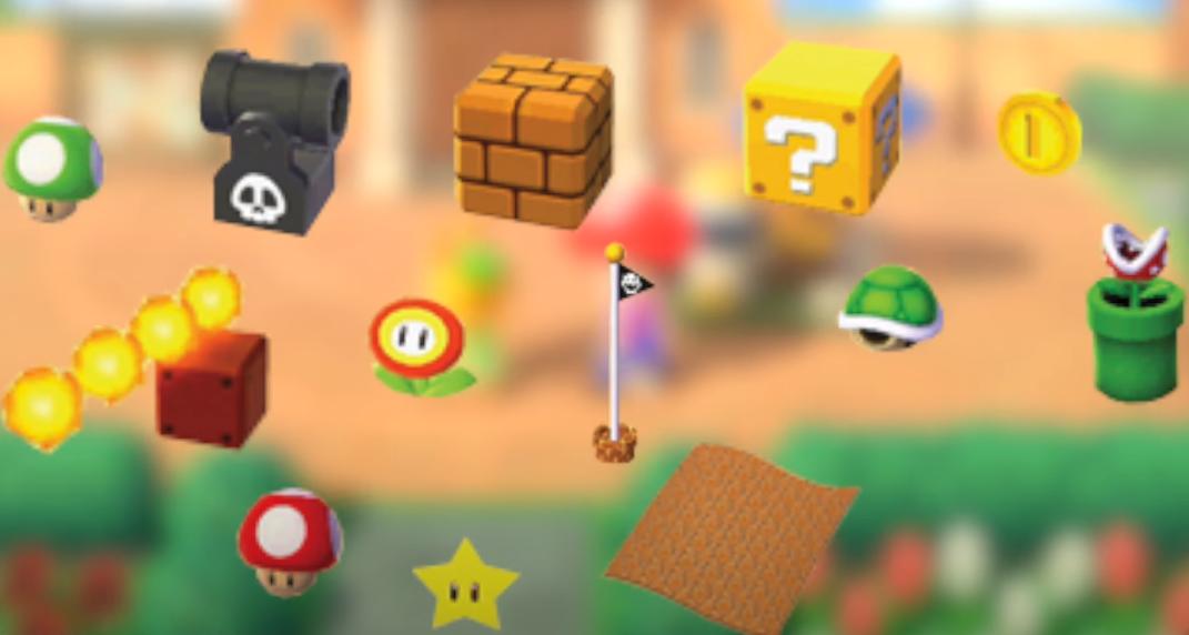 Acnh Super Mario Items Animal, Super Mario Furniture Animal Crossing
