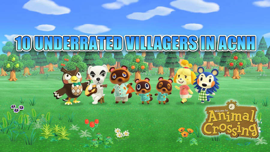 most wanted animal crossing villagers cute