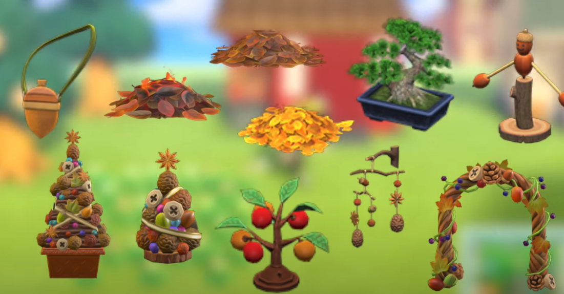 Animal Crossing New Horizons Tree Bounty Items