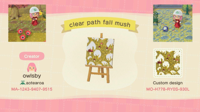 acnh fall path 3