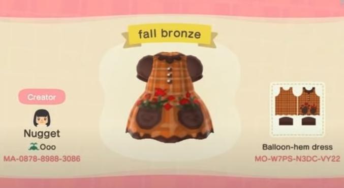 acnh fall clothes 6