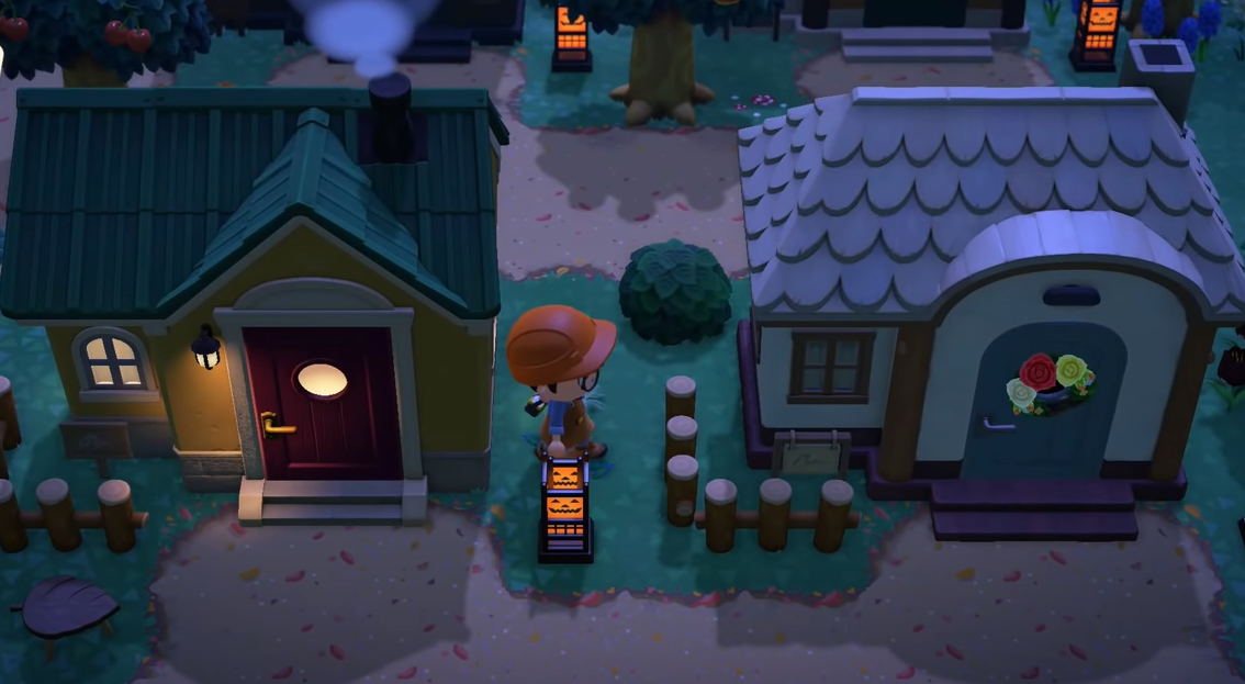 acnh halloween lantern