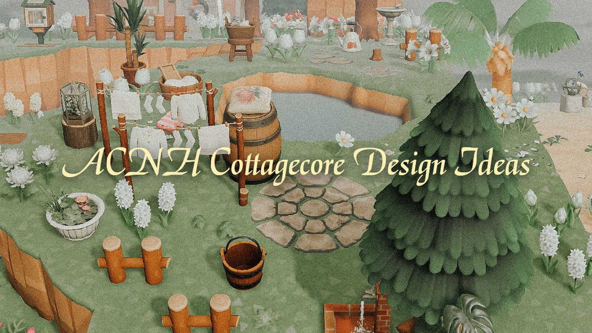 Picture of: Best Acnh Cottagecore Design Ideas Tips Country Rural Path Clothes Custom Design Codes In Animal Crossing