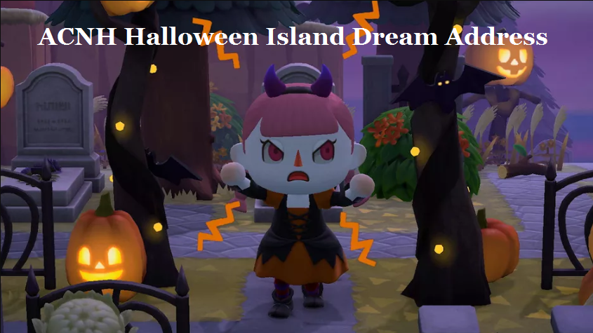 acnh halloween island dream codes