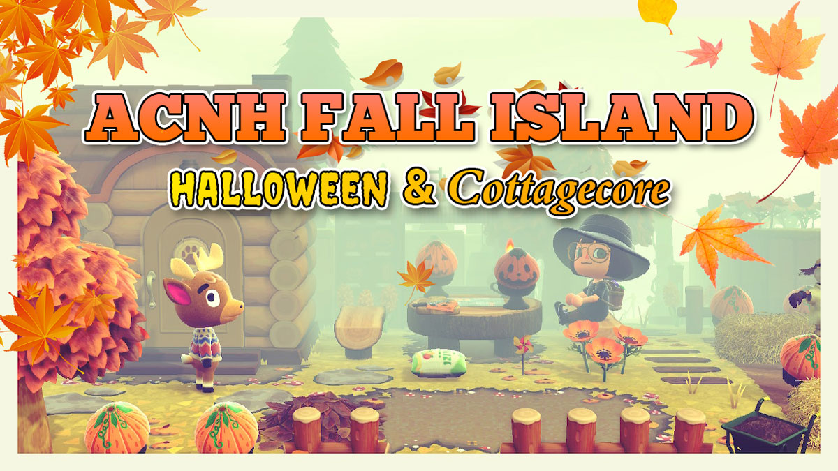 Top Acnh Halloween Spooky Cottagecore Island Dream Codes Animal Crossing New Horizons Fall Island Dream Address