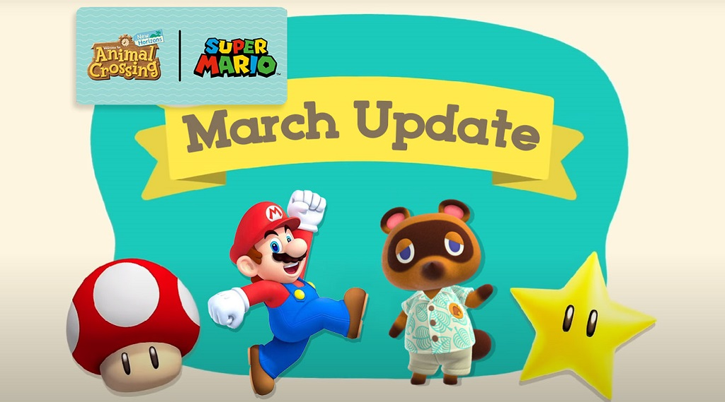 animal crossing new horizons march & spring update